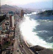 Plaatje tsunami